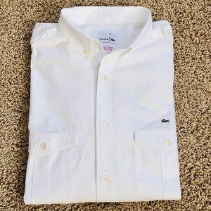 Men's Lacoste button-down shirt